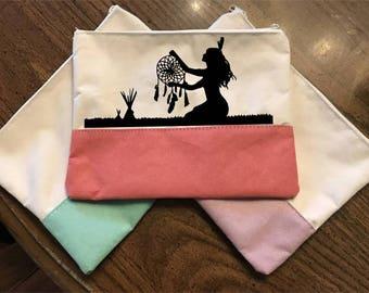 """A """"Dreamcatcher"""" Cosmetic Bag, Makeup Bag"""