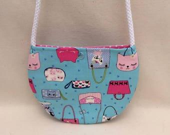 Little Girls Purse – Kitty Cat Purses! – Kawaii – Crossbody / Cross Body Bag Handbag, Toddler Purse, Preschool, Mini Purse, Little Girl's