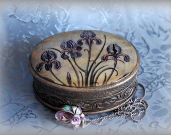 """Jewelry Box """"Iris"""""""