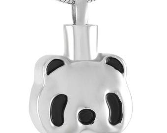 Panda Cremation  Pendant-Cremation Jewelry, Urn Necklace, Memorial Jewelry, Necklace for Ashes, Keepsake Jewelry