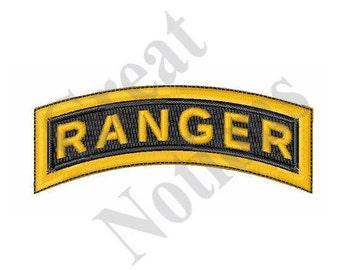 Army Ranger - Machine Embroidery Design