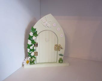 Mint Green Fairy Door, Handmade Fairy Door, Fairy Door