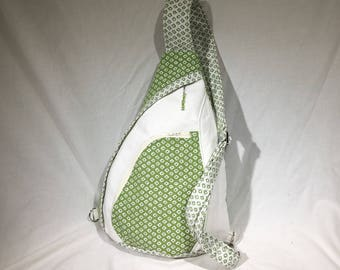 Green and White Concealed Carry Purse Handbag Backpack Summit Pack