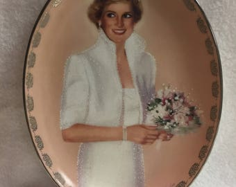 Bradford Exchange Diana: Queen of Our Hearts Collector Plate - 'Our Royal Princess' (#243)