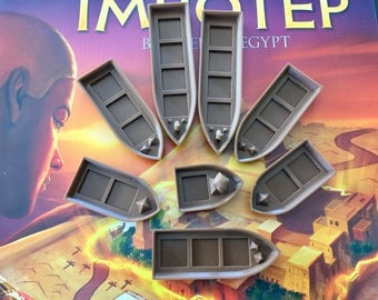 Imhotep Boats and Sleds (pkg of 12)