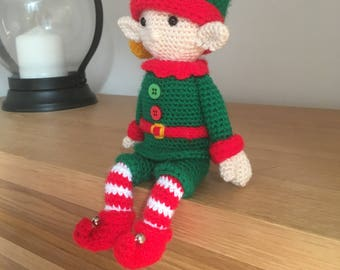 Amigurumi Sitting Elf