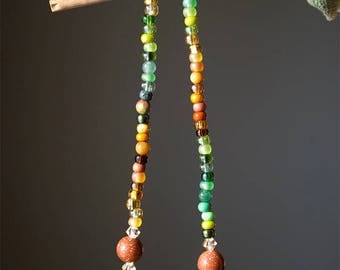 Fall/Crystal/Gypsy/Long Necklace