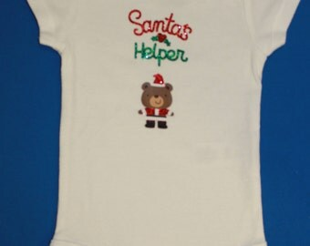 Santa's Helper, Bodysuit