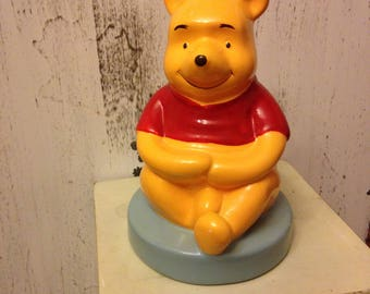 Vintage Winnie the Pooh Coin Bank