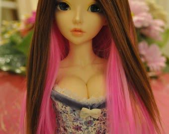 Sweet Candy msd bjd Alpaca wig