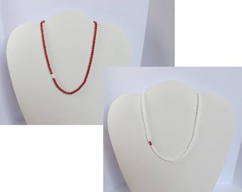 Swarovski Crystal Necklace for Christmas - Several colors