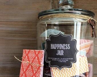 Happiness Jar | Gratitude