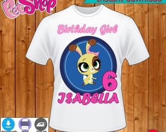 Littlest Pet Shop T-Shirt, T-Shirt Littlest Pet Shop, Littlest Pet Shop party, Littlest Pet Shop T-Shirt Decor -INSTANT DIGITAL DOWNLOAD