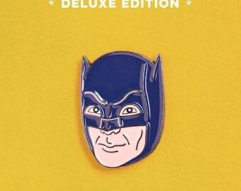 Adam West Batman Enamel Pin - Deluxe Edition