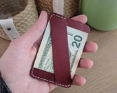 The Chapman, Leather Minimalist Wallet, Mens Wallet, Front Pocket Wallet,Thin Card Wallet, Personalized Wallet, Groomsmen Wallet, EDC Wallet