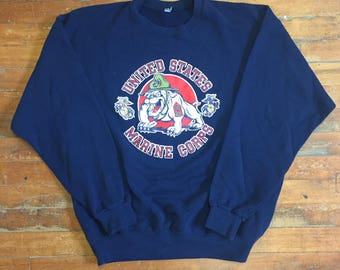 90's United States Marine Corps Pullover Sweater