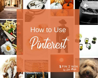 How to Use Pinterest, Making Pinterest Easy with a Step by Step Guide for Beginners and Current Pinners, Tutorial, PDF Printable Guide | P11
