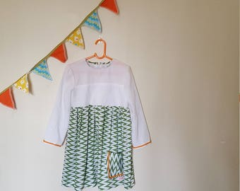 Lovely handmade girl's dress size 4-5