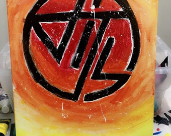"CUSTOM 11""x14"" Acrylic Painting on Canvas Panel"