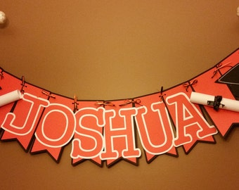 Graduation Name Banner