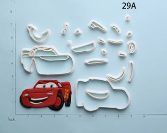 Disney Cars Fondant Cutter Disney Cars Cookie Cutter Disney Cars Gift Disney Cars Party Disney Cars Birthday Gift