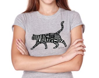 Meal of Rice Ladies T-Shirt, inspired by Bob Mortimer's Twitter Cat Names, 10% to Cats Protection