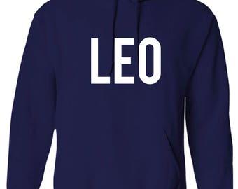 Leo Zodiac Unixes Men and Women Hoodie