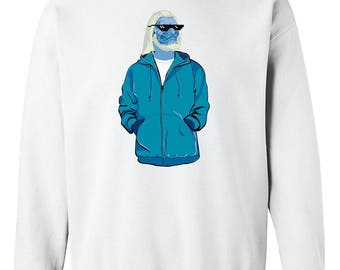 Game of Thrones Inspired White Walker Sweatshirt