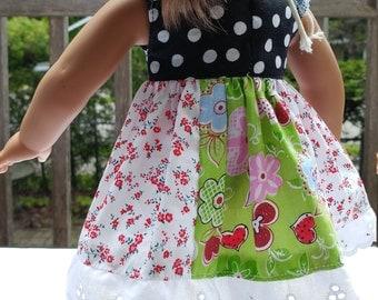 18 inches doll cloth 18 inch doll cloth Robe pour poupée de 18 pouces tissus coton mélangés mixed cotton fabrics