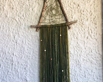 Woodland fairy dreamcatcher