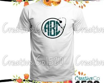 Doctor Monogrammed T-Shirt | Custom Tee |  T-Shirt With Sayings | Tees | Lettered T-Shirt | T-Shirts | Custom Shirt | Tops | Monogrammed Tee