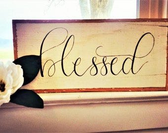 Blessed sign.