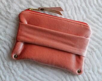 Velvet Mini Clutch | Handmade