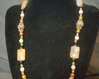 Fall passions necklace