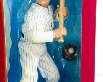 """Starting Lineup Baseball Cooperstown Collection Babe Ruth 12"""" Action Figure"""