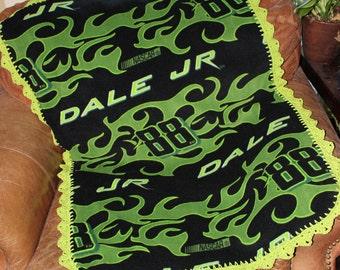 Nascar Dale Earnhardt Jr Baby Blanket