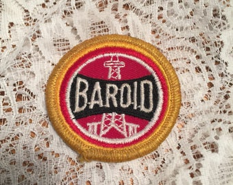 Baroid Oil Company Uniform Patch