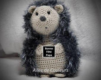 Hedgehog crochet, Amigurumi