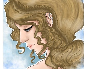 Goddess Drawing