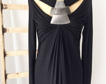 Vestido largo de Donna Karan