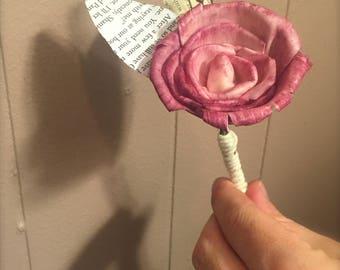 Single Stem Sola Wood Rose