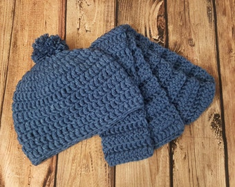 Toddler Hat & Scarf Set