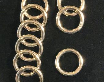 "1"" Nickel Heavy Round Rings"