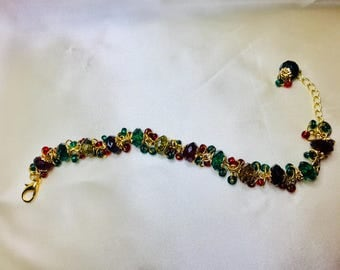 Christmas Colors Bracelet
