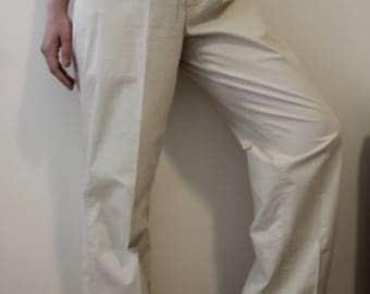 Vintage Café Au Laite High Rise Trouser