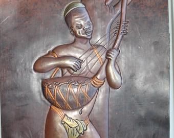 African Copper art