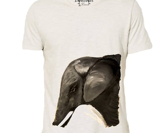"""Gentle"" organic Elephant T-shirt"