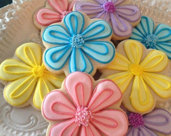 Flower Cookies, Bridal Shower, Garden Club, Grow, Wedding