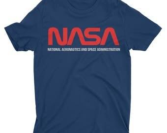 Nasa Shirt. Nasa Tshirt. Nasa Space Shirt. Space Shirt. National Aeronautics and Space Administration Shirt