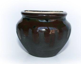 Wall Planter - Black Drip